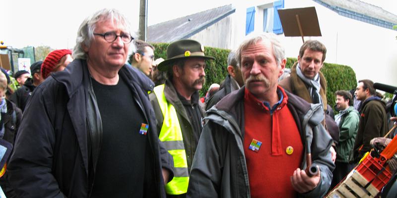 Manifestation à Notre-Dame-des-Landes