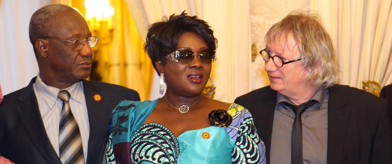 Younoussi Touré reçu au Sénat