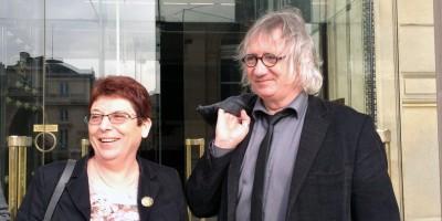 Brigitte Allain et Joël Labbé © F. Guerrien