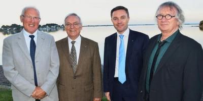 Quatre présidents pour un parc : Jo Oillic, Bernard Le Boru, David Lappartient et Joël Labbé. C'est Raymond Marcellin qui a créé le SIAGM en 1964.