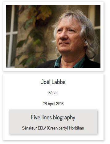IUFN - Interview de Joël Labbé