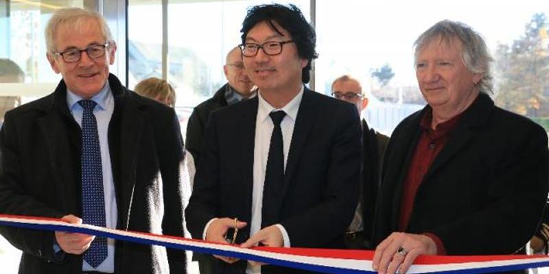 Inauguration de la cité administrative de Vannes