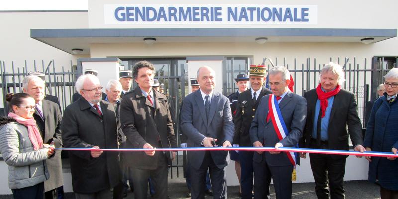 Inauguration de la gendarmerie d'Allaire