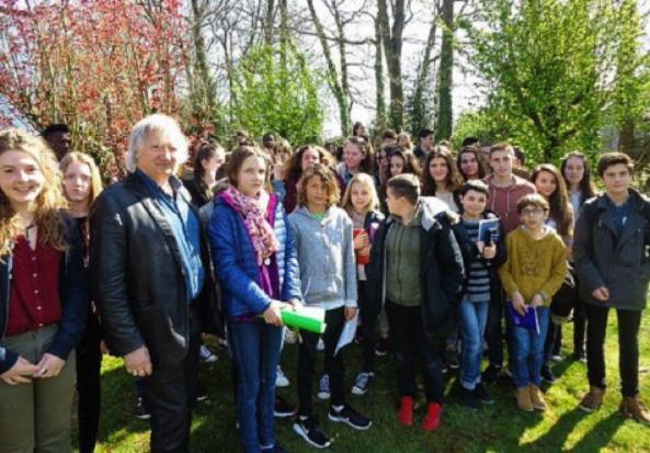 Visite au Collège Yves Le Bec