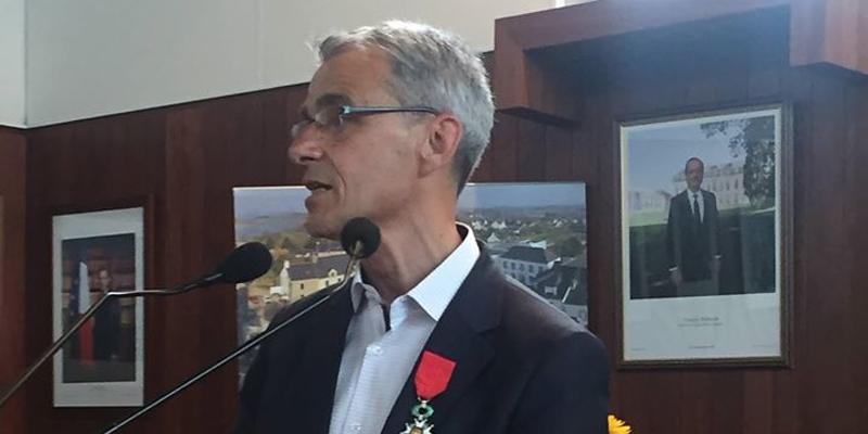 Légion d'honneur à Luc Foucault