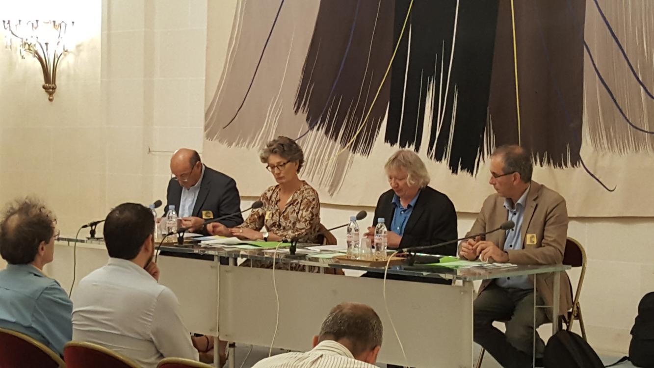 Conférence de presse résolution européenne
