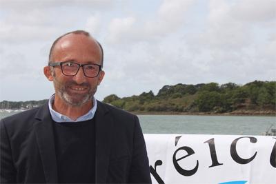 Benoît Le Joubioux, président de l'association Ostréiculteur traditionnel.
