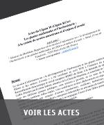 Actes CIPAM
