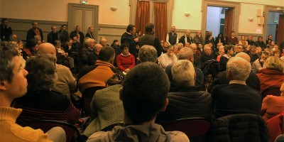 Grand débat à Auray
