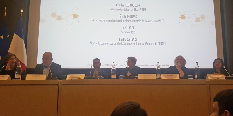 Colloque perturbateurs endocriniens à l'Assemblée nationale