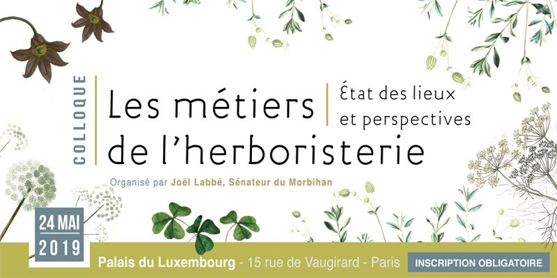 Colloque Les métiers de l'herboristerie