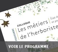 Programme colloque herboristerie