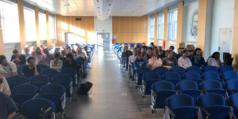 Intervention au Lycée De Sailly