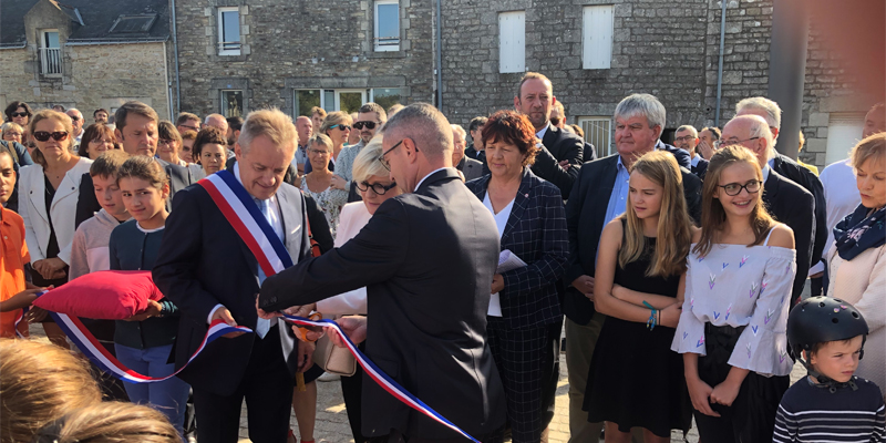 Inauguration à Meucon