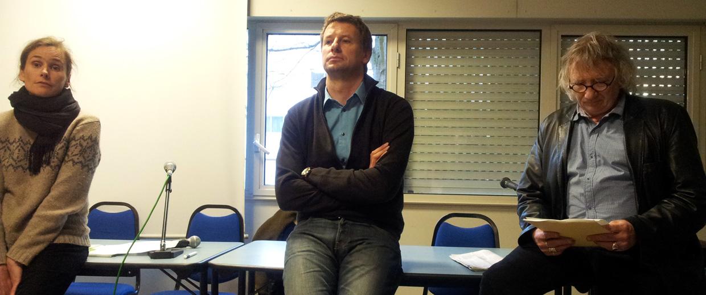 Yannick Jadot au Palais des Arts