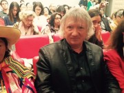 Avec Laurence COHEN, sénatrice du Val-de-Marne (à droite) et Rosa Sara HUAMAN RINZA, élue de la communauté Quechua de Kañaris (à gauche).