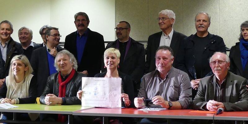 Signature de la charte à Landévant