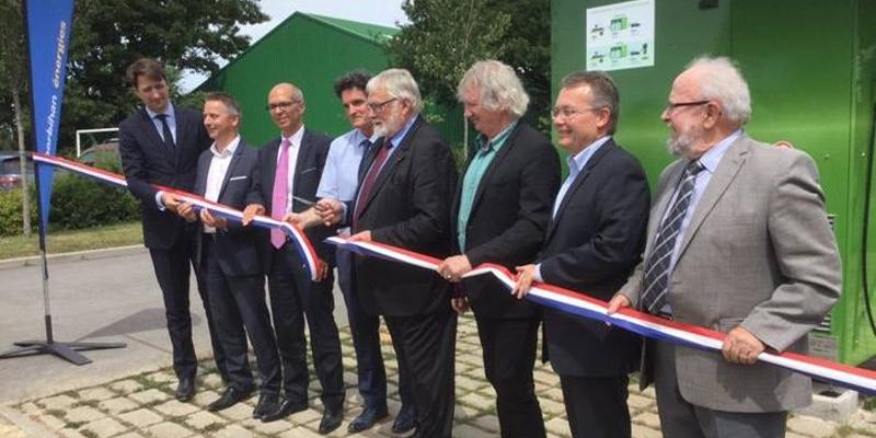 Inauguration station hydrogène