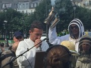 Manifestation des apiculteurs