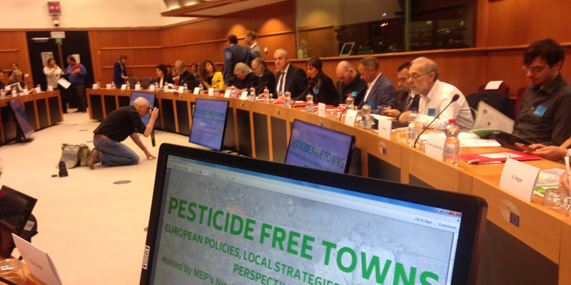 Pesticides free town
