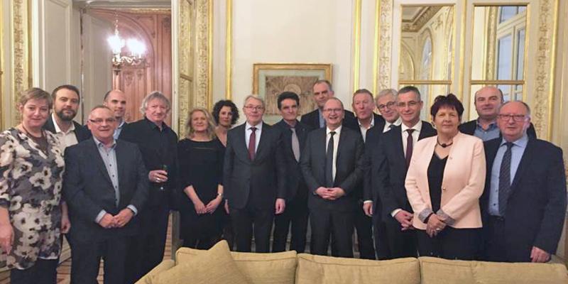 Fédération Française du bâtiment du Morbihan au Sénat en 2018